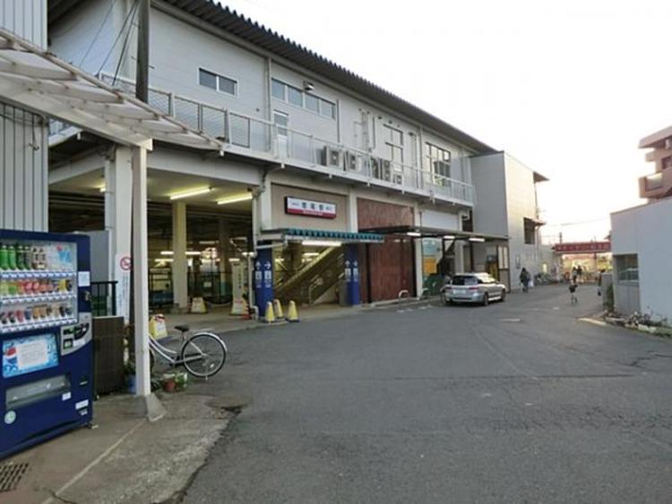 東武鉄道増尾駅740m