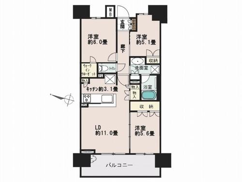 ザ・パークハウス浦和上木崎の物件画像
