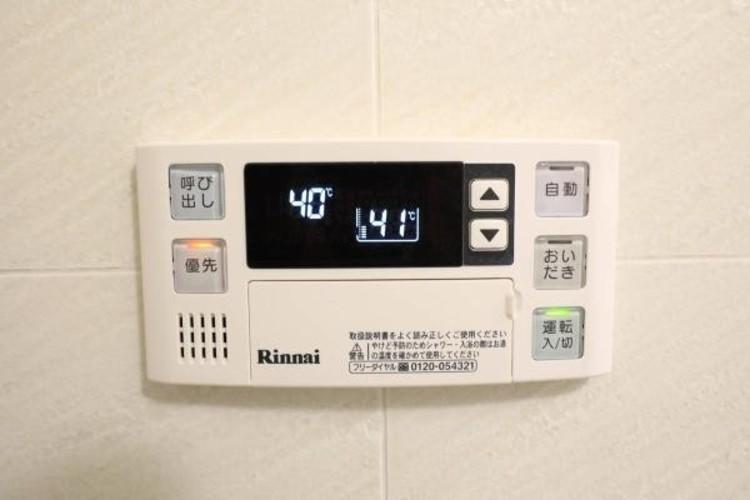 【浴室コントロールパネル】多彩な機能満載のリモコンは、毎日のお風呂ライフをより楽しく便利にしてくれる機能がいっぱいです。