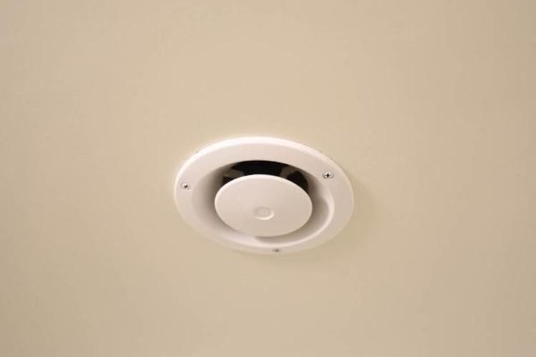 火災報知器設置で安心です。