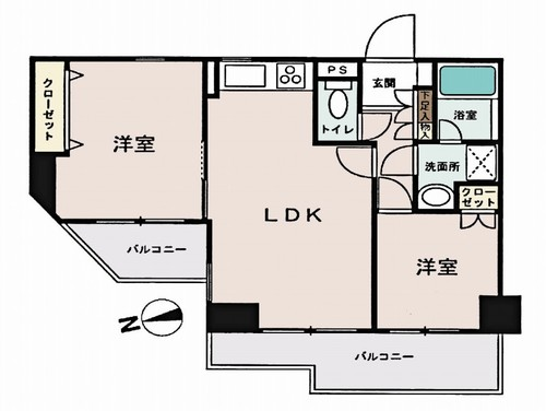 東急ドエル・アルス川口5丁目壱番館の物件画像