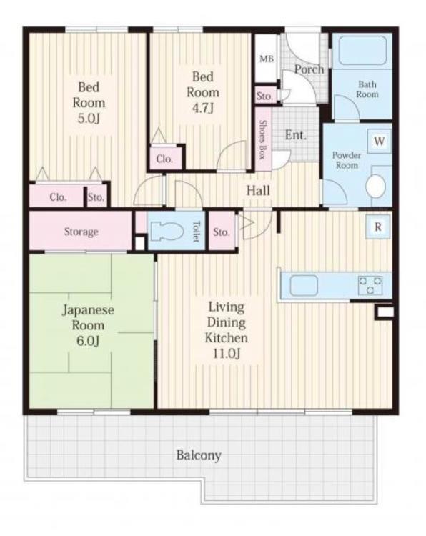 収納多めの間取りで生活空間も広々!快適な新生活をスタートできるお部屋です!