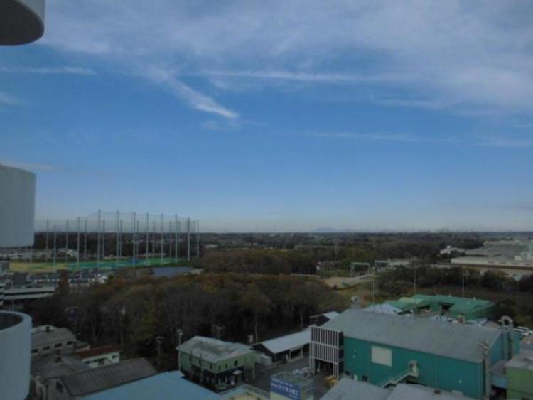 ひろ〜い空!毎日開放的な眺望をお楽しみいただけます!