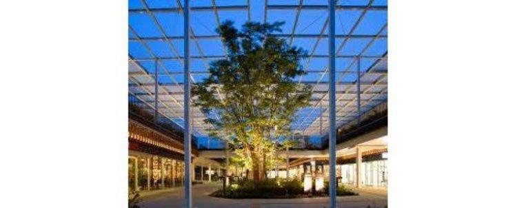 けやきモールまで1340m おしゃれなショッピングセンター
