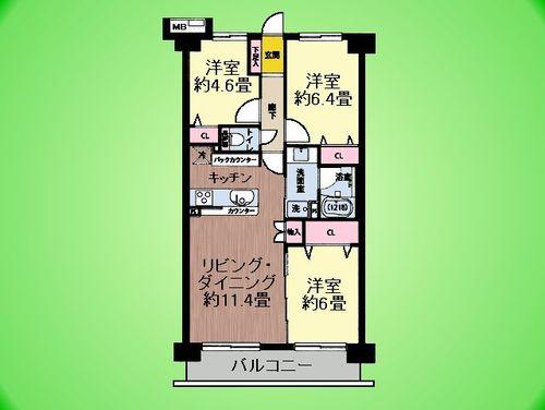 シーアイマンション橋本の画像