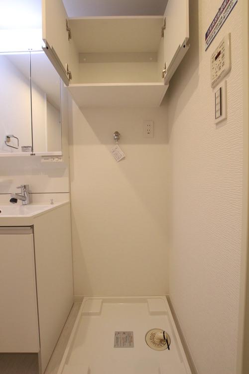 水回り設備は1ヶ所にまとまっており、家事動線の良いお部屋