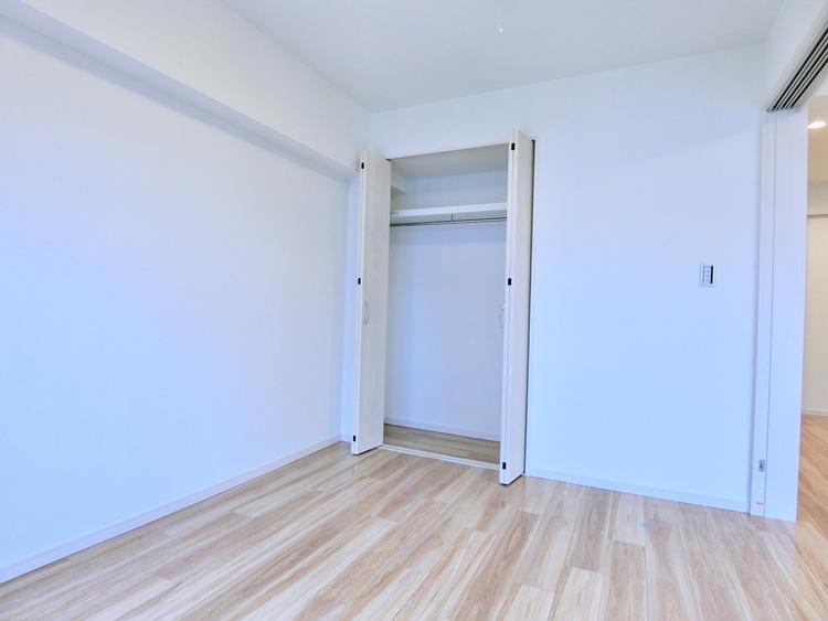 全室にクローゼット/物入。収納力の高いプラン。
