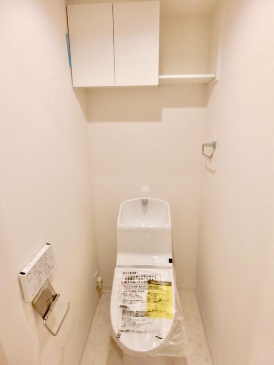 手洗い付きトイレ。