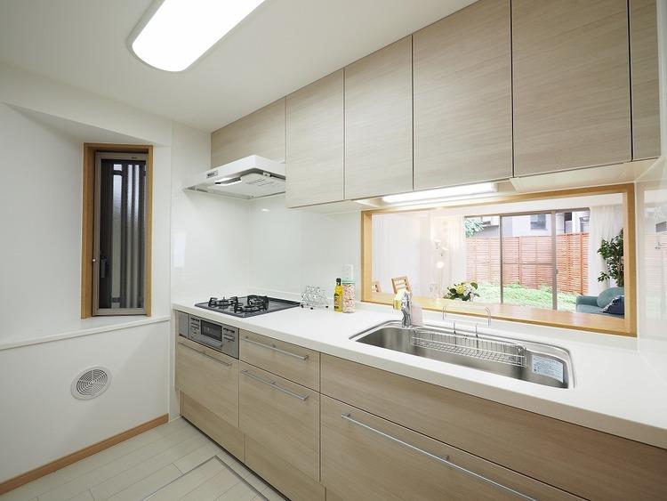 調理動線を考慮したキッチン