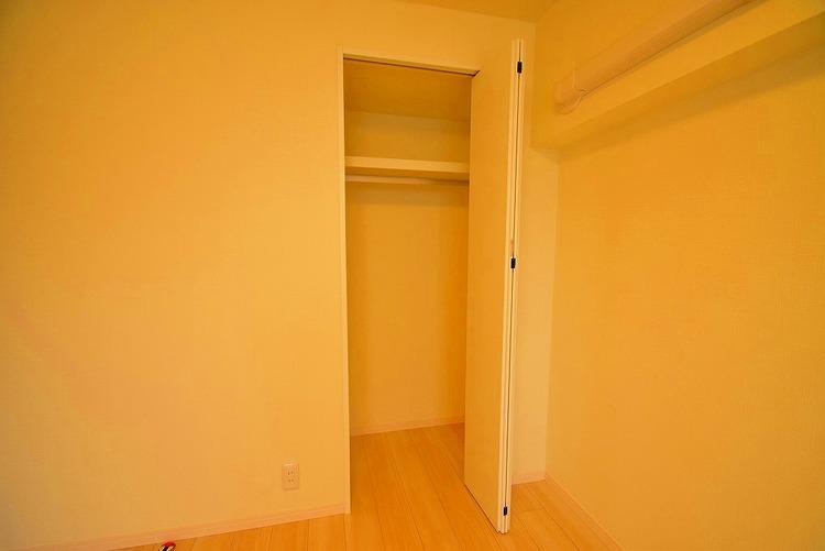 全居室に収納スペースを確保しています