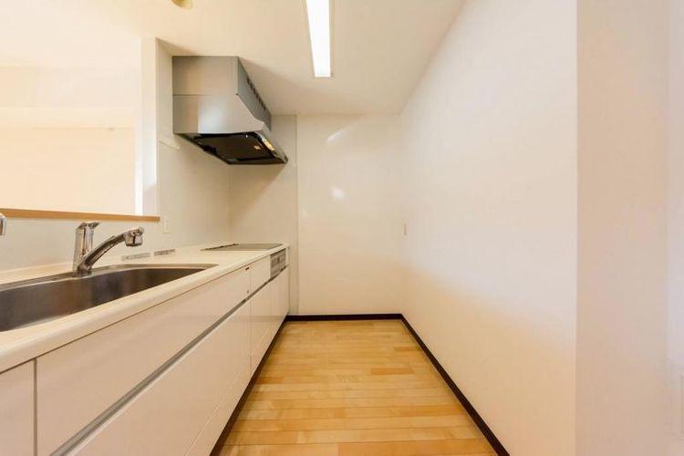 「キッチン」ゆったりとしたキッチンスペース