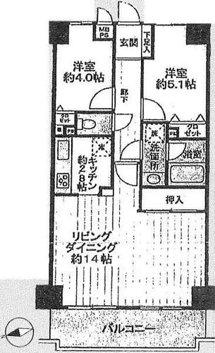 ライオンズガーデン横浜蒔田の物件画像