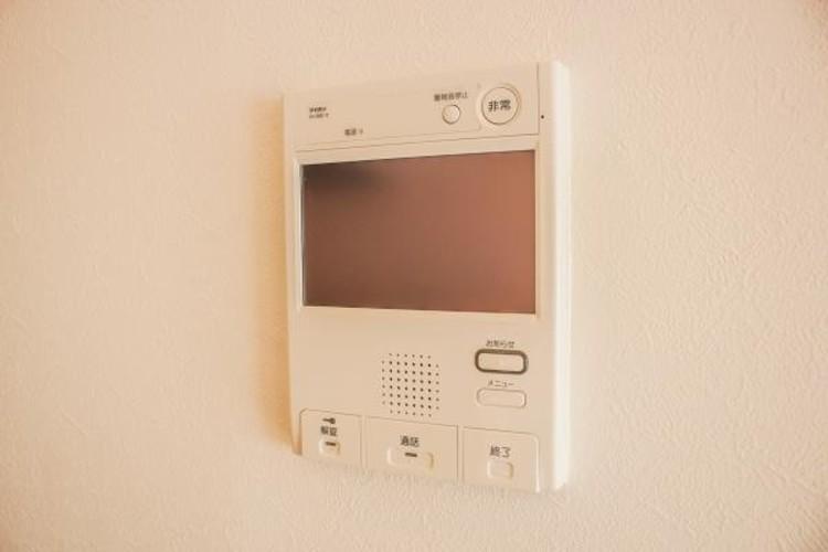 【TVモニター付インターホン】