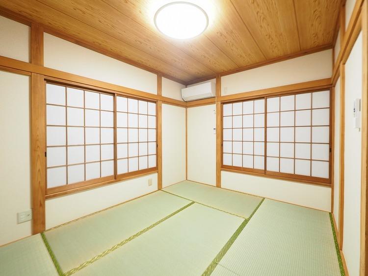 最近は畳コーナーや広い和室が人気です。畳は吸放湿効果があり、カビ防止にも役立ちます。