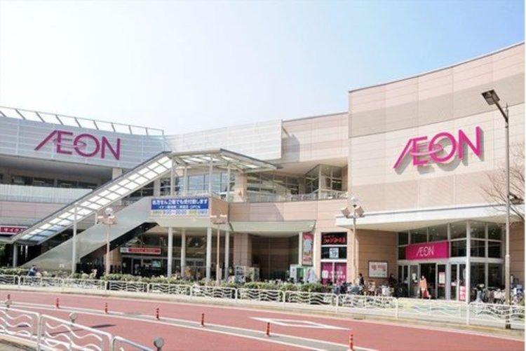 イオン東雲ショッピングセンターまで521m。イオンモールは、イオングループが運営する「モール型ショッピングセンター」および「大型ショッピングセンター」のブランド。