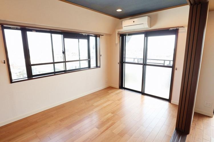 全居室開口部があるため、心地良い風が吹き抜けるお部屋です