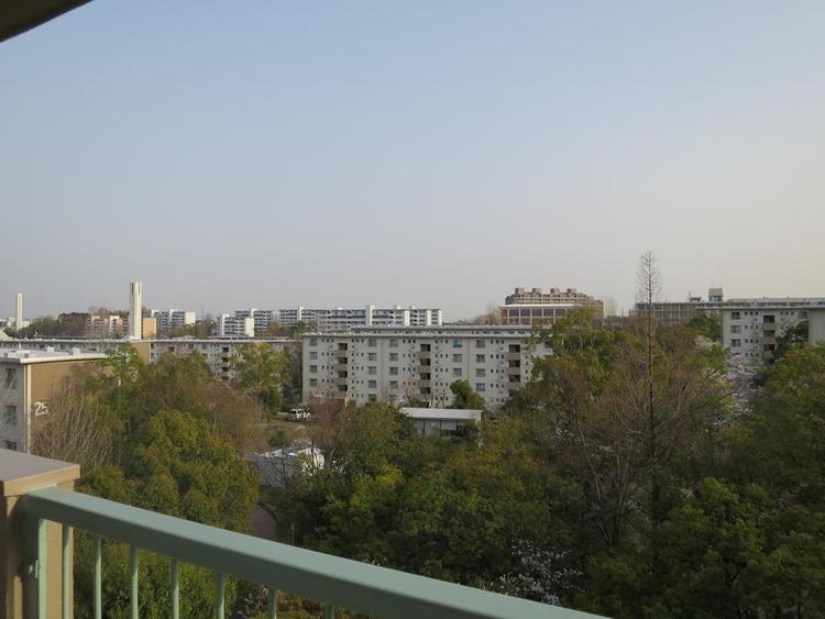 バルコニーからの眺望(南西方向)