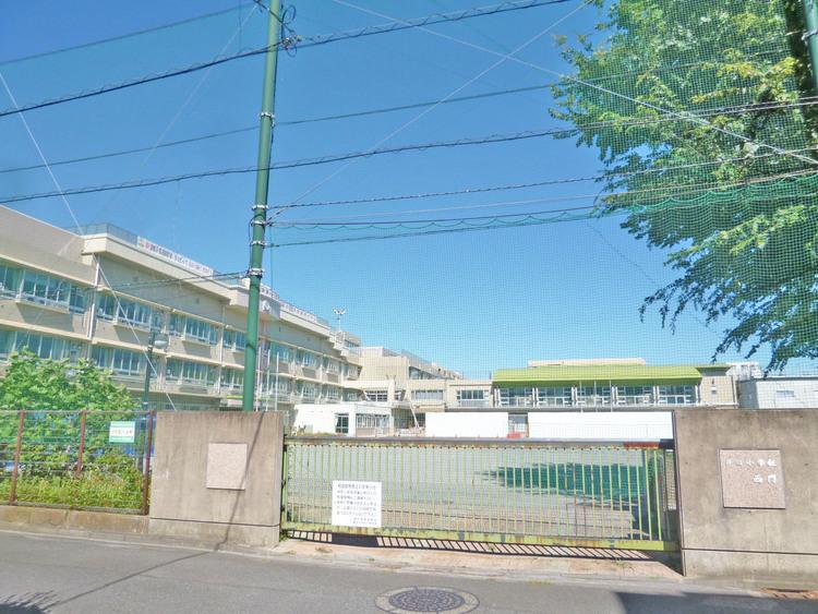 井田小学校まで550m