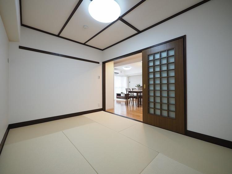 くつろげる空間の和室