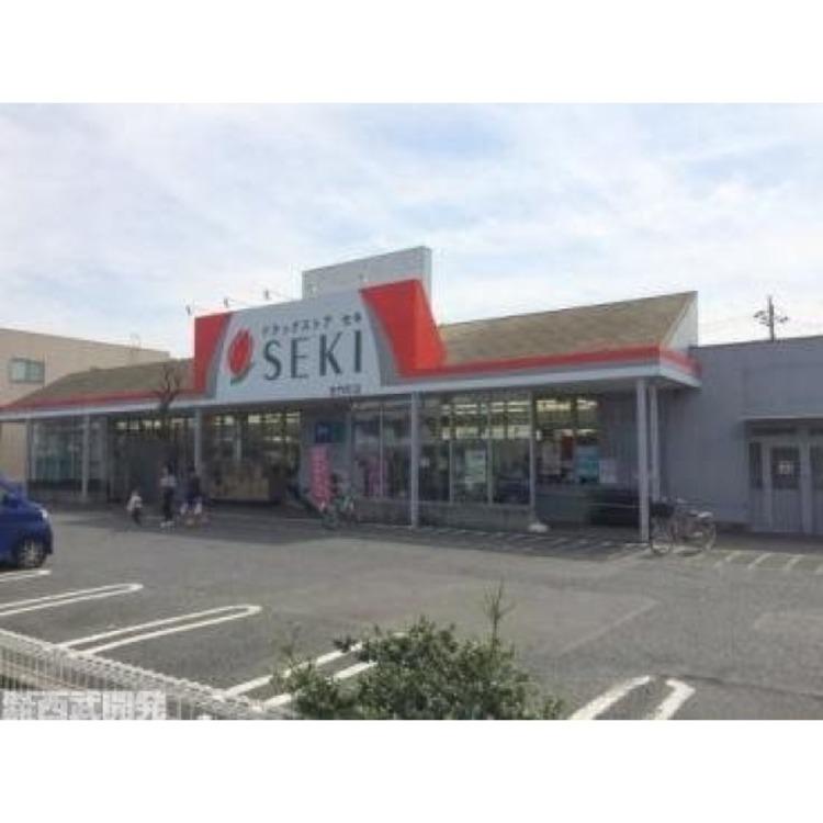 ドラッグストアセキ清門町店(約500m)