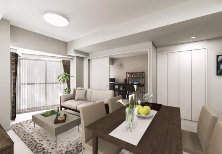 LDKに隣接する洋室3には引き戸を採用。ライフスタイルに合わせて様々な使い方が可能です