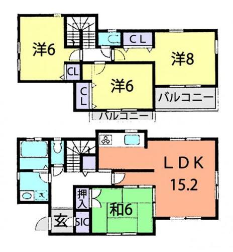流山市東深井 中古住宅の画像