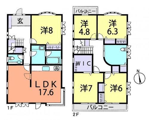 野田市岩名2丁目 中古住宅の画像