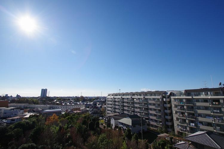 南側バルコニーからの眺め