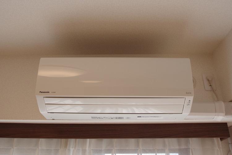 エアコン新規設置済みです