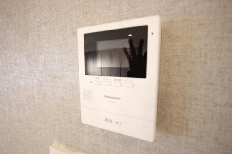 TVモニター付きiインターホン
