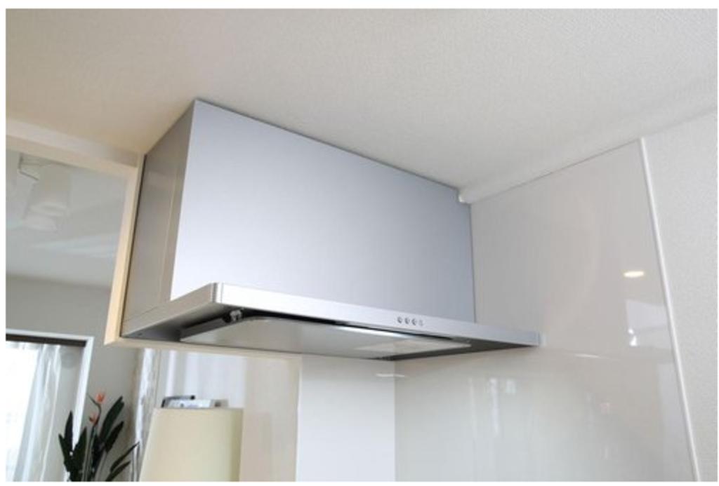 吸い込み効率を高め、煙や臭いを素早く排気。吸気口にはお手入れのしやすい整流板を採用しました。