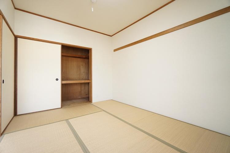 和室 約6.0帖 あると便利な和室