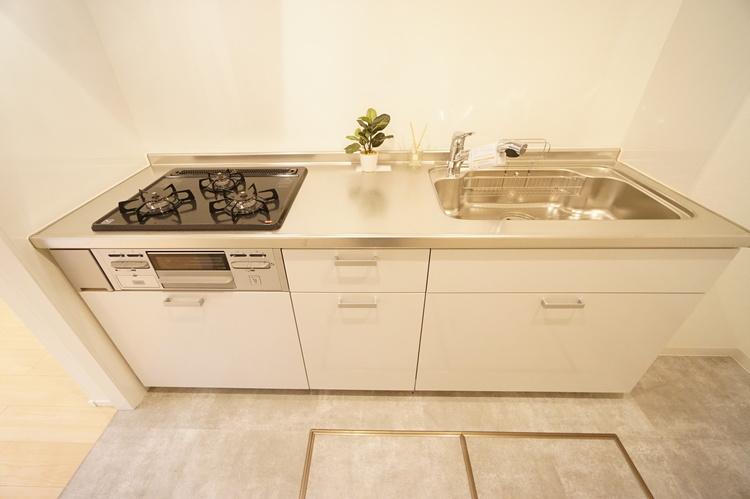 キッチン あると便利な床下収納付