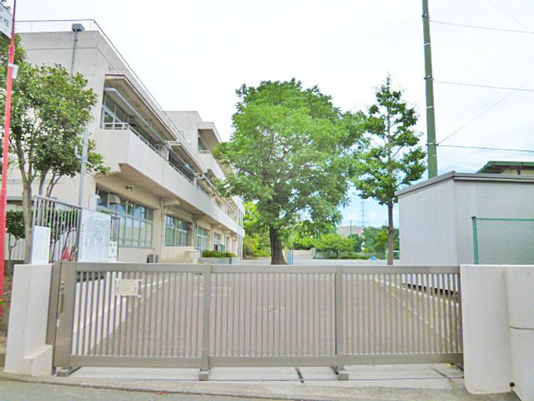 横浜市立新石川小学校 距離約1100m