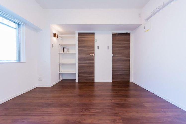 「洋室」約6.2帖 WIC付きでお部屋がすっきりと片付きます。