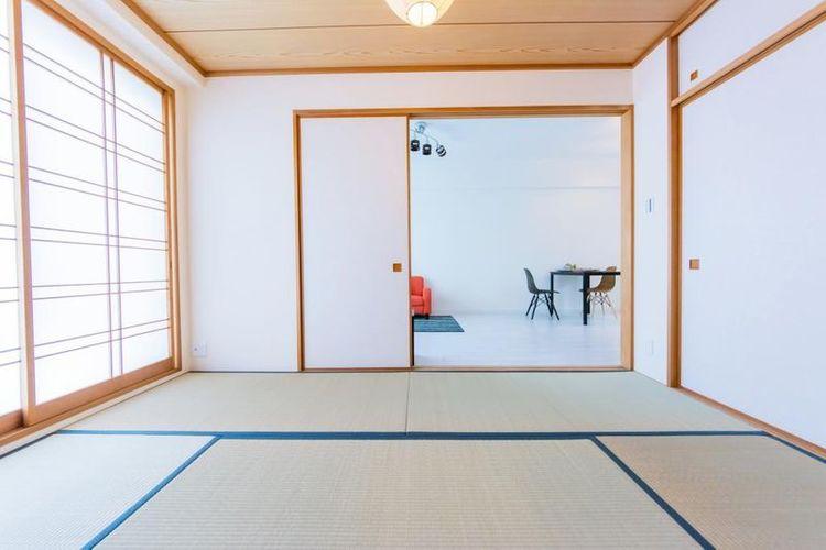 「和室」約6.0帖 リビングと併設された和室。客間としても使用することができます。