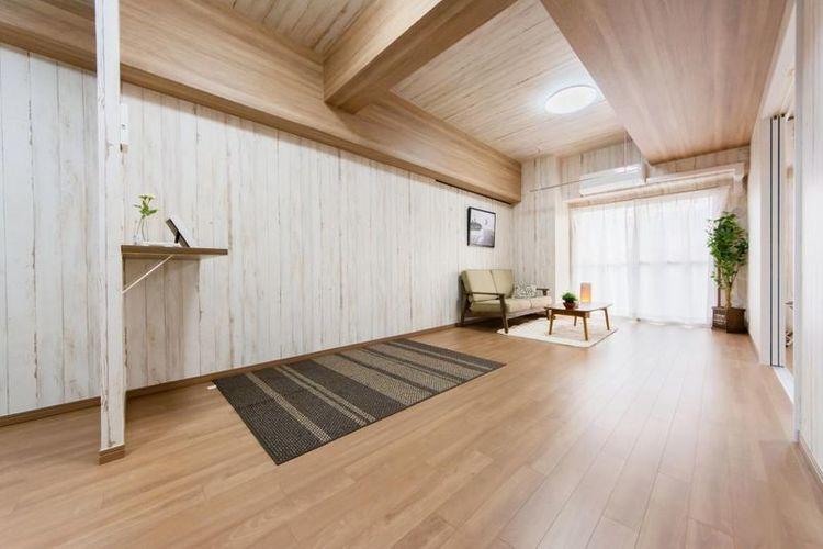 「LDK」約14.7帖 家族が自然と集まる居心地の良い空間
