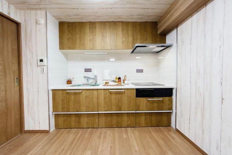 「キッチン」たっぷり収納にお料理アシスト機能なども充実しています。