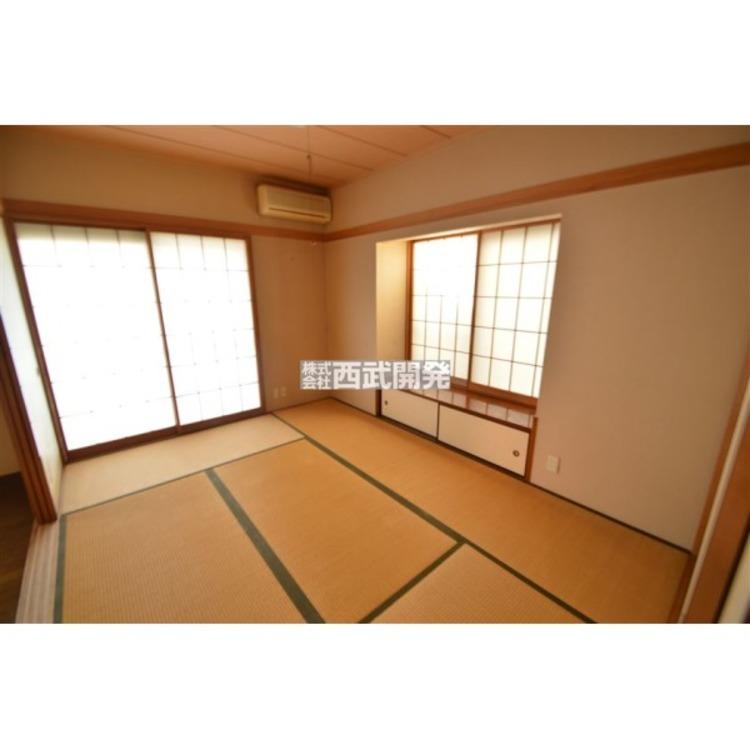 心落ち着く住空間の和室6帖、2WAYタイプで使いやすいお部屋です!