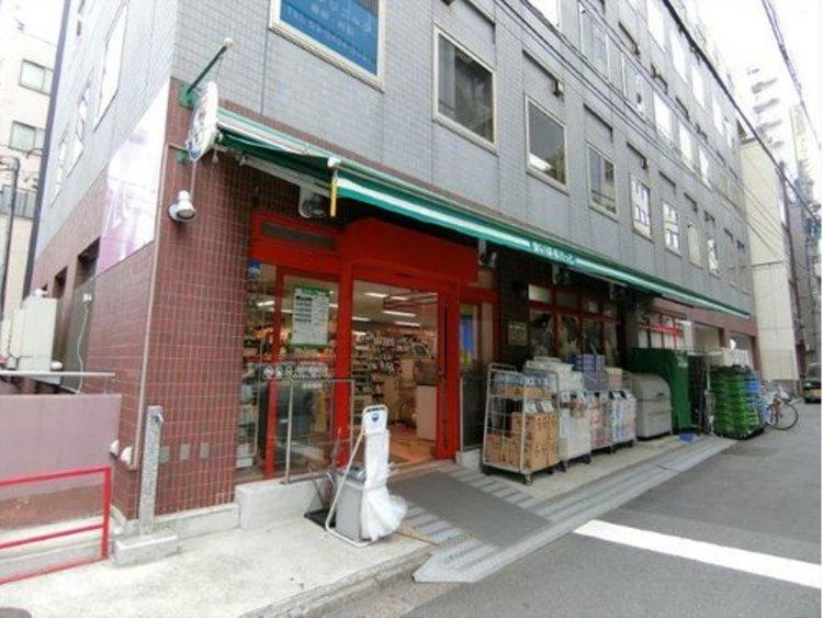 まいばすけっと新橋5丁目店まで546m。ディスカウント食料品も充実しており便利なスーパーです。