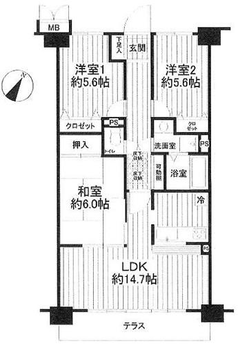 ヒルテラス横浜・保土ヶ谷弐番館の物件画像