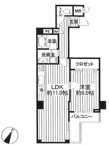 セザール妙連寺の物件画像