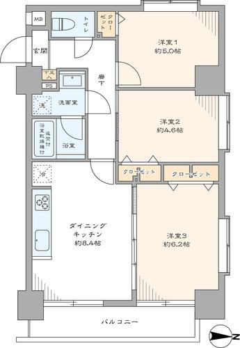 グレイス錦糸町の物件画像