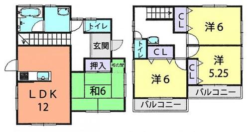 柏市松ヶ崎 中古住宅の画像