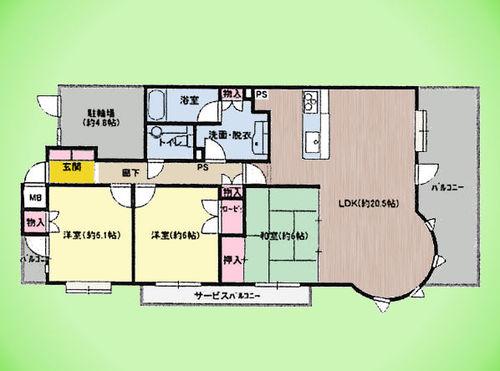 ダイヤモンドマンション ラ・セーヌの画像