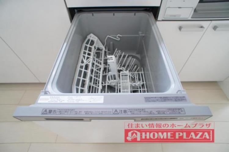 忙しいママさんの味方!食器洗浄機付きで手荒れからも解放!