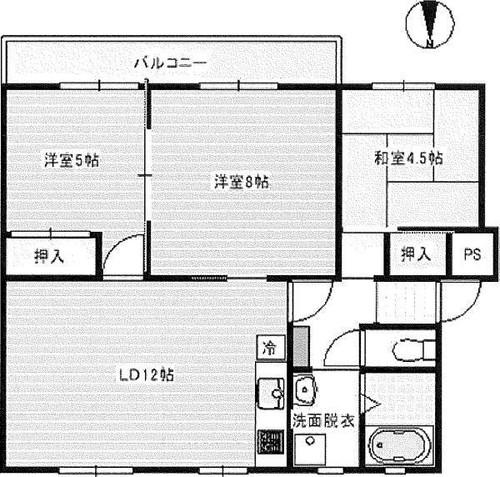 東芝戸塚台コーポD棟の物件画像