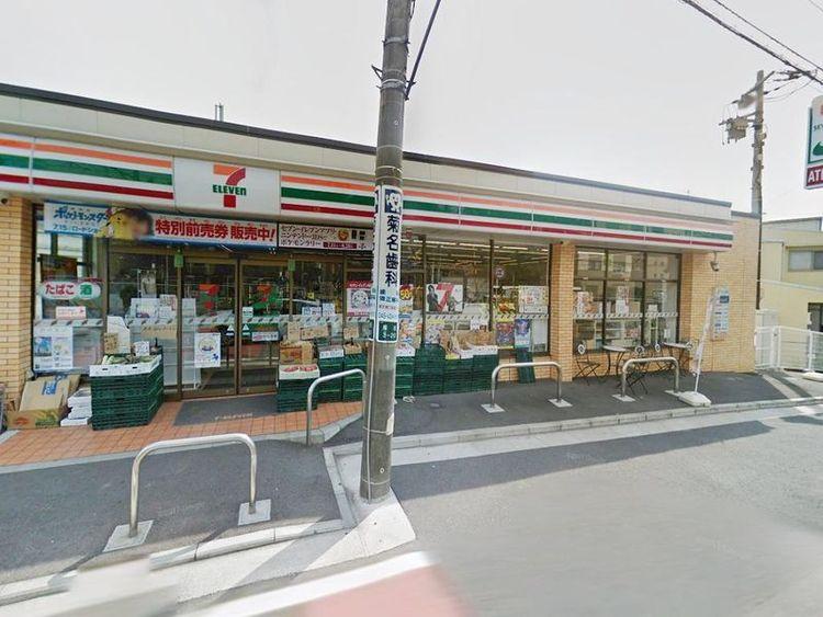 セブンイレブン横浜菊名3丁目店 徒歩5分 360m