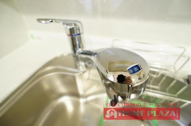 浄水機能付きで経済的にも嬉しい♪