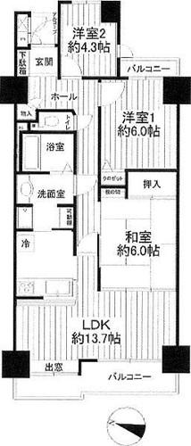 コスモ戸塚リベラヒルズB棟の物件画像
